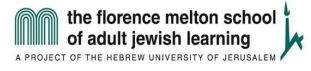 Adult Learning for the Wondering Jew