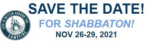 SAVE THE DATE SHABBATON WEEKEND 26-29 NOVEMBER AT CAREY PARK